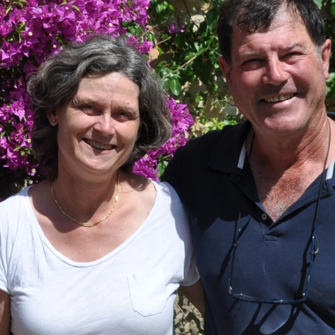 Marie et Philippe Levaux